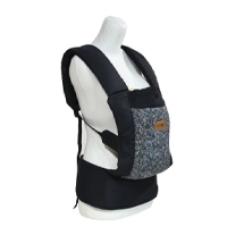 Baby 2 Go Carrier M-Shape Solid Black - B2G1110