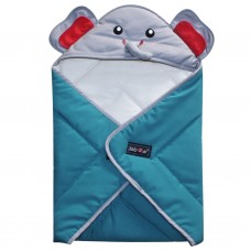 Selimut Blanket 2 Go Animal Series (Gajah) B2B1101