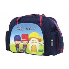 BABY SCOTS Tas Besar Perlengkapan Bayi Scots Print - Diaper Bag BST2301