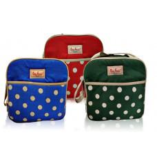 Diaper Bag / Tas Baby sedang Family polkadot TSBF01