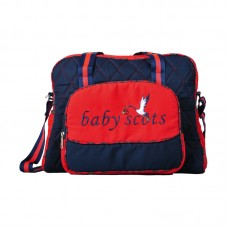 Baby Scots Embroidery Diaper Bag 4 ISED018