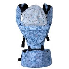 BeCute Premium Hip Seat Baby Carrier / Gendongan Bayi 6in1 TQ010 Warna Biru