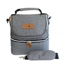 Cooler Bag Denin Baby Scots/Tas Perlengkapan Bayi B2T3114