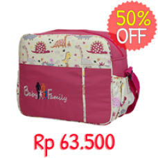 Tas Medium Perlengkapan Bayi Baby Family 6 - Diapers Bag BFT6201