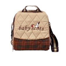 BABY SCOTS Tas Perlengkapan Bayi Alumunium Foil - Diapers Bag ISEDB019 Brown