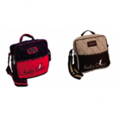 Scots Embroidery Simple Bag - Red ISESB012
