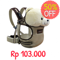 Gendongan Boneka/ Scots Stuffed Animal Baby Carrier